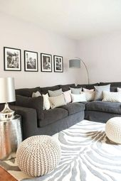 6 Beautiful gray living room ideas to capture the minimalist look   – Wohnzimmer