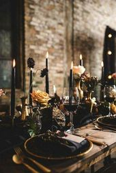 30 Glamourous Halloween Bridal Shower Ideas