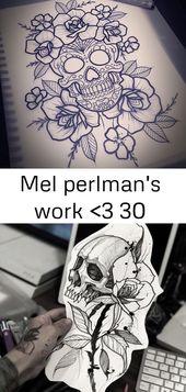 Mel Perlmans Arbeit