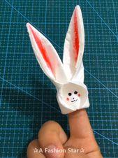 10 Easy Paper Craft Ideas – DIY For Kids – Paper Rabbit