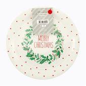 Christmas Santa S Workshop Disposable Bowls 8 Pack White Big W Disposable Tableware Santas Workshop Christmas Cover