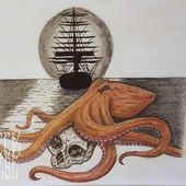 #kraken #octopus #ocean #ship #naval #krakentattoo #tattooidea #tattooinspiratio…,  #Kraken…
