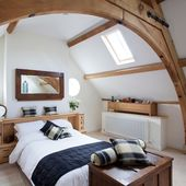 7 beautiful timber-framed bedrooms – ♡ Beams…
