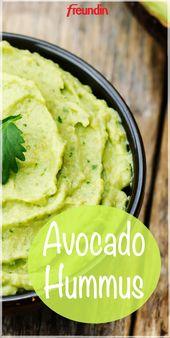 Rezept: Leckerer Avocado-Hummus   – Alles über Avocado – Tipps und Rezepte