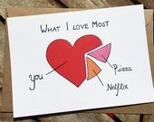 Lustige Karte – ich vermisse dich – lustige Statistik – Fernbeziehung – Liebe – Geschenk – Freundin – Freundin – ich liebe dich – ldr