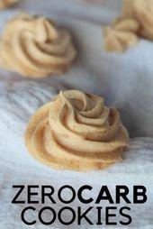 Almond Cloud Cookies : Low-Carb Almond Meringues 1
