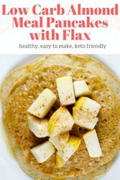 Almond Flour Pancakes with Flax   – Healthy Breakfast Recipes