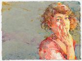 Ted Nuttall ~ Figurativer Aquarellmaler