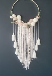 Boho Kindergarten Dreamcatcher