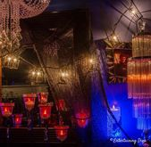 Indoor Halloween Lighting Effects and Ideas That Will Make Your House Look Spooky – Entertaining Diva @ From House To Home – Indoor Halloween Decor Ideas