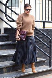 Frauenkleidung – Fashionable: Die Sängerin, die sich zu einer Designerin entwickelt hatte, battle in ihrem lässigen Ensemble mühelos stylish … – Uber Frauen