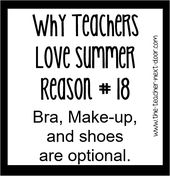 Considered one of summer season's fringe advantages! Discover extra instructor humor and observations th…