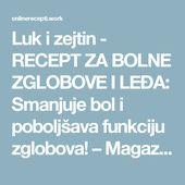 Recept Za Bolne Zglobove I Leđa Smanjuje Bol I Poboljsava Funkciju Zglobova Boarding Pass Rec Mobile Boarding Pass