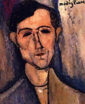 """¡Nueva obra de arte hecha con amor para ti! – """"Retrato de cabeza de hombre de una pintura de poeta de …   – PixBreak Art Print"""