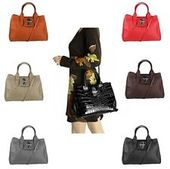 Photo of ITALy LADIES LEATHER BAG 3xFach Shoulder Bag Shopper Shoulder Bag Handbag …