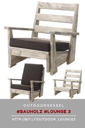 Der Outdoor Sessel!
