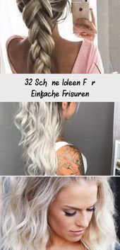32 nice ideas for simple hairstyles