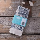 Items similar to Leaves Handprinted Fabric – Chalk on Etsy The Coastal Cottages …- Items similar to Leaves Handprinted Fabric – Cr …