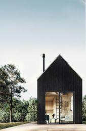 Catskills Tiny House Plan – #cabin #Catskills #Hou…