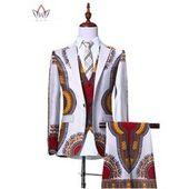 Abetteric Mens African Floral Print Dashiki Vogue Long Sleeve Shirts Tops