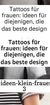 Tätowierungen für Frauen: Ideen für diejenigen, die das beste Design suchen 5 1 – Tattoos
