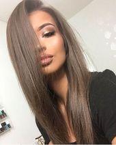 35 Rauchige und raffinierte aschbraune Haarfarbe – Teil 25   – Hair inspiration