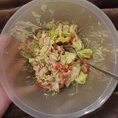 #gutenabend  ihr Lieben, das war mein #Abendessen 💖😊, gemischter Salat mit… – Einfache Salat Rezepte