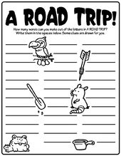 A Road Trip On Crayola Com Road Trip Activities Road Trip Road Trip With Kids