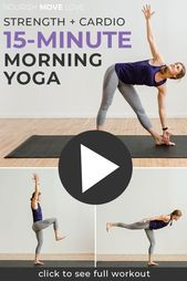 Power Yoga 15-Minute Yoga Sculpt At Home – nourish move love | health + fitness blog