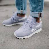 info for c1fe1 84a8e Sneakers women - Reebok Classic Leather Sea Worn (©theliveitup) omg you  never forget your first love!   Sneaker addiction   Sneakers fashion  outfits, ...