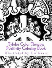 Color Therapy Coloring Book Unique Tylobo Color Therapy Positivity Coloring Book Paperback Coloring Books Pattern Coloring Pages Color Therapy