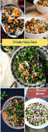 Kick off your Holidays Right with These Healthy Winter Salads!