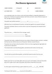 Divorce Worksheet  Download This Divorce Worksheet Template If