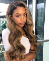 Rose Hair Colorful Hair Lace Frontal Wig Human Brazilian Virgin Hair The Same As The Hairstyle In The Picture