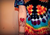 Keith Haring Chats Body Art