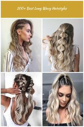 Braids are simply unavoidable! You can opt for these side ones - they seem pretty interesting and fashionable. #wavyhair #hairstyle #hairstyles 100+ B...