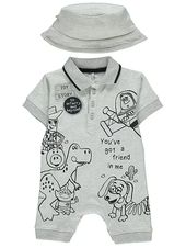 Disney Toy Story gris tout-en-un et costume de chapeau   Bébé   George   – #ChildGoals