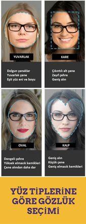 Yüz Şekline Göre Gözlük Modeli Seçimi