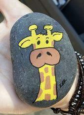 20 unglaubliche DIY Painted Rock Design-Ideen – De…