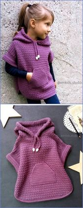 Diy Crochet Vêtements Enfant Modèle De Conception   – Rund ums Kind