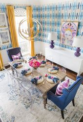 The Most Colorful Texas Dining Room You'll Ever See!