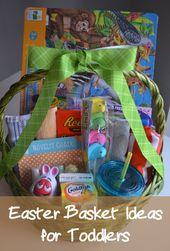 50 Toddler Easter Basket Ideas