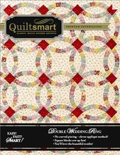 Double Wedding Ring By M P Mattie Rhoades Classic Pack Includes Illustrated Instructions 8 Panels O Double Wedding Rings Wedding Ring Quilt Quilt In A Day