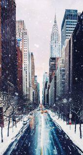 Winter in New York City – Swetlana