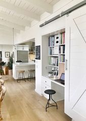 Home-Office-Bereich Small Built Ins 36+ Ideas