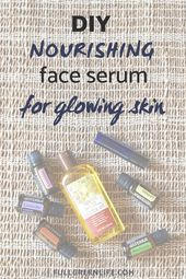 DIY Nourishing Essential Oil Face Serum for Bedtime | Follow this easy recipe to…