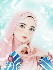 37b9a1f1478df2ff36defccfd8fc0567  hijab anime - She beauty hijabers