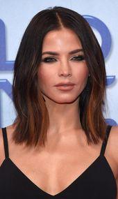 15 Mittlere und schulterlange Frisuren für Frauen #shoulderlengthBob