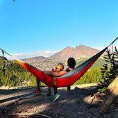 Zimtown Portable Camping Hammock 2 Person Double Backpacking Hammock For Outdoor Activities – Walmart.com