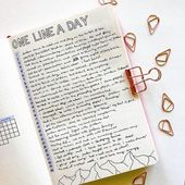 20 Gorgeous Bullet Journal Spreads